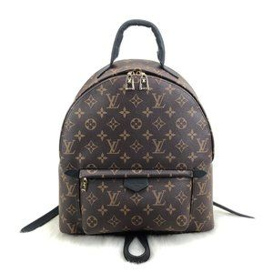 Louis Vuitton Palm Springs MM %100 genuine leather